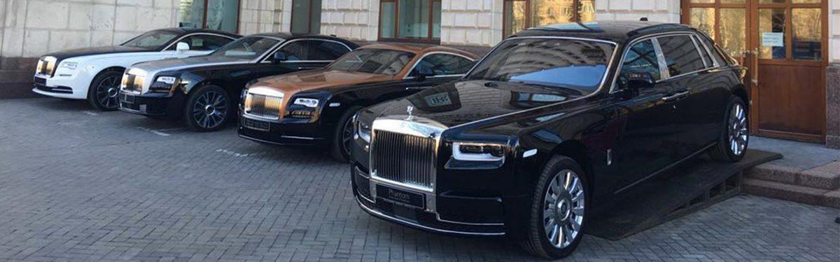 реклама Rolls-Royce